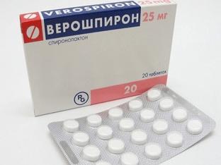 Когда назначают таблетки Верошпирон
