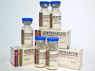Побочные действия антибиотика цефтриаксон