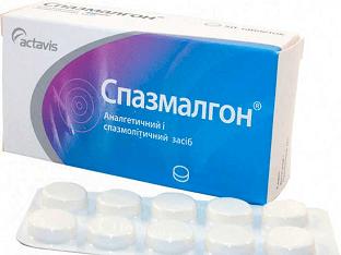Применение Спазмалгона от головной боли