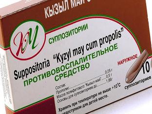 """Свечи """"Кызыл май"""": инструкция по применению"""
