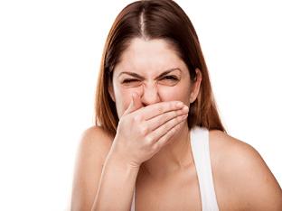 Как устранить сильный запах изо рта