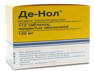 Какие показания к применению препарата де нол