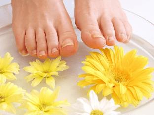 Домашние средства от потливости ног