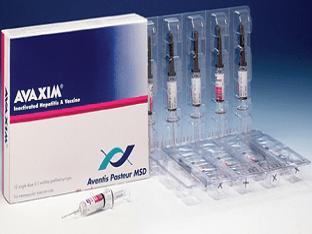 Аваксим вакцина/прививка против гепатита A (желтухи)