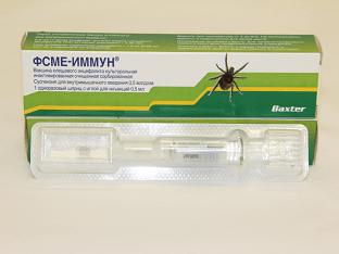 ФСМЕ-Иммун вакцина/прививка против клещевого энцефалита