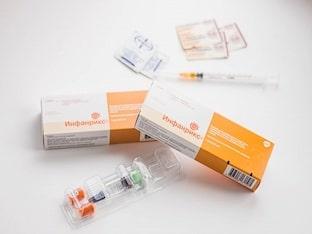 Инфанрикс вакцина/прививка против дифтерии, столбняка и коклюша