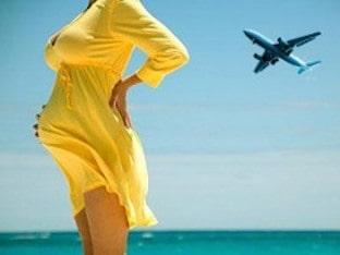 Можно ли летать на самолёте во время беременности